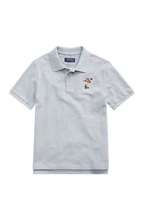 Ralph Lauren Childrenswear Boys 8-20 Rugby Bear Cotton