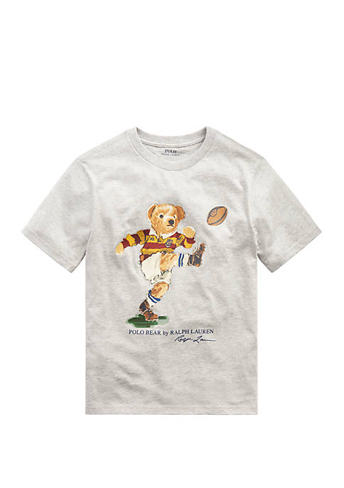 Ralph Lauren Childrenswear Boys 8-20 Rugby Bear Cotton