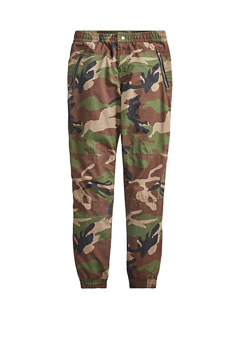 Ralph Lauren Childrenswear Boys 8-20 Camo Cotton Poplin