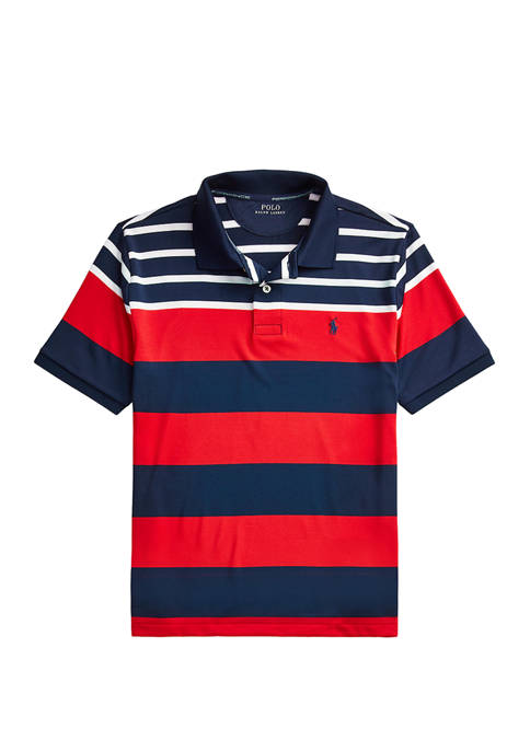 Boys 8-20 Performance Stretch Jersey Polo Shirt
