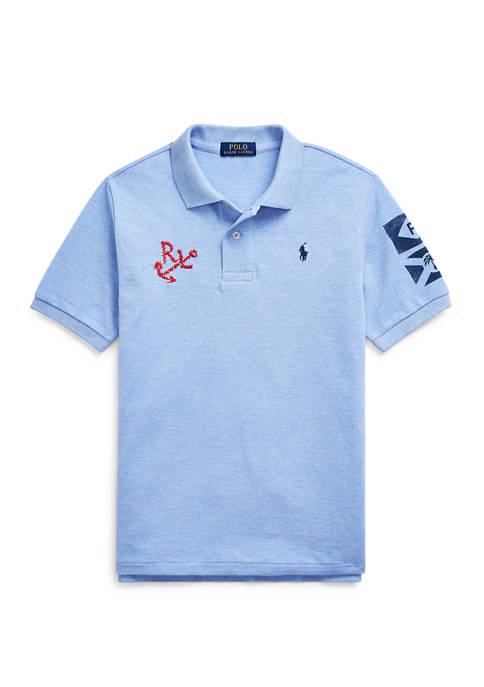 Ralph Lauren Childrenswear Boys 8-20 Nautical Cotton Mesh