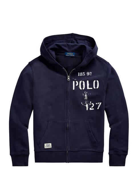 Ralph Lauren Childrenswear Boys 8-20 Nautical French Terry