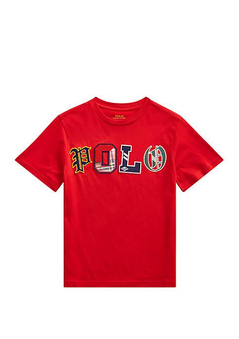 Boys 8-20 Cotton Jersey Logo T-Shirt