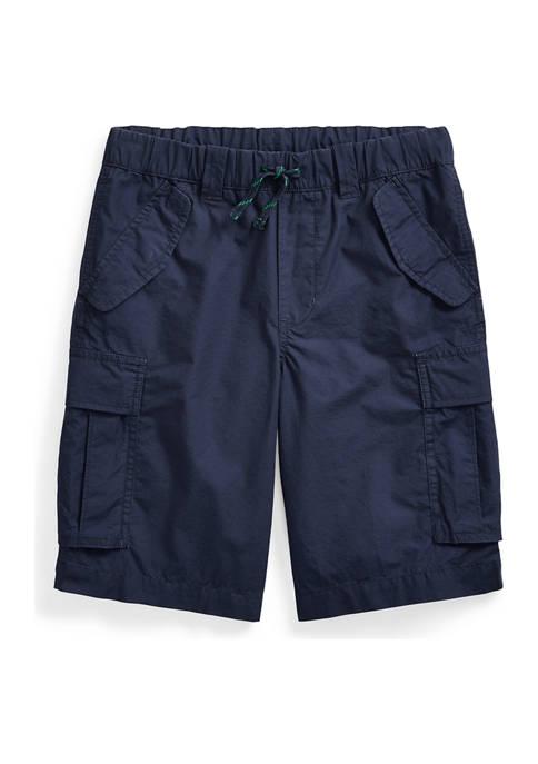 Boys 8-20 Cotton Ripstop Cargo Short