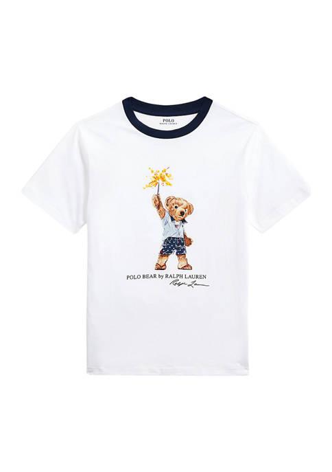 Boys 8-20 Sparkler Bear Cotton T-Shirt