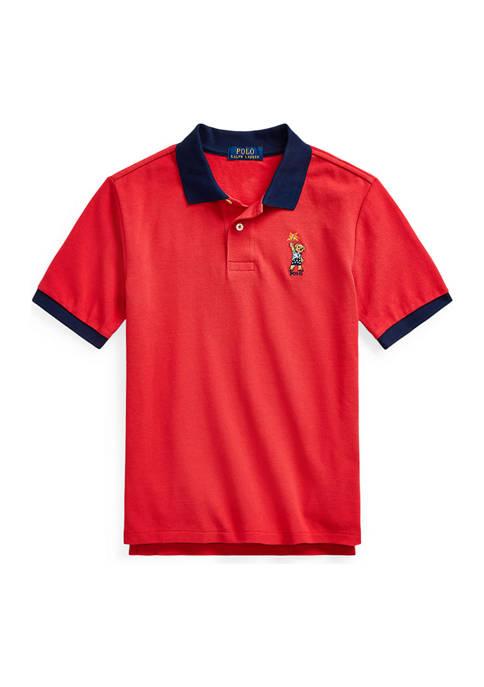 Ralph Lauren Childrenswear Boys 8-20 Sparkler Bear Cotton