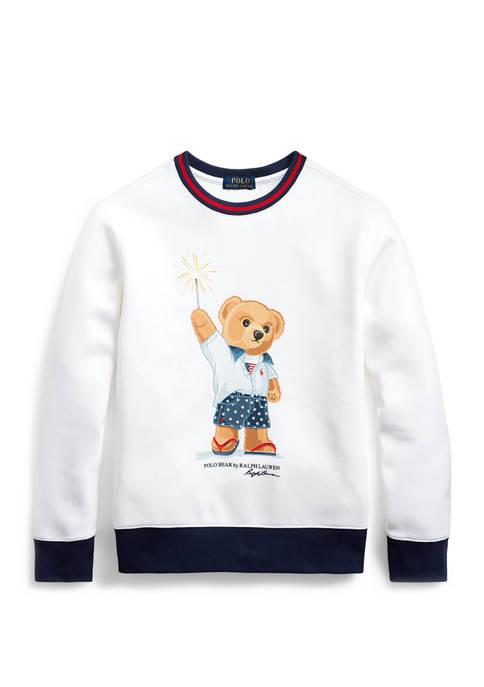 Boys 8-20 Sparkler Bear Sweatshirt