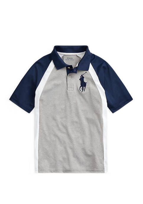 Ralph Lauren Childrenswear Boys 8-20 Performance Stretch Lisle