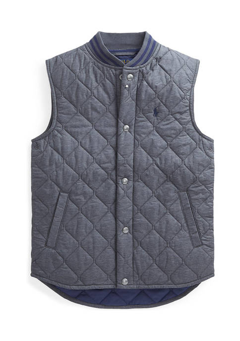 Boys 8-20 Water-Resistant Quilted Vest