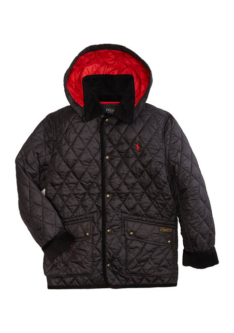 Boys 8-20 Quilted Jacket
