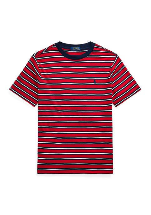 Ralph Lauren Childrenswear Boys 8-20 Striped Cotton Jersey