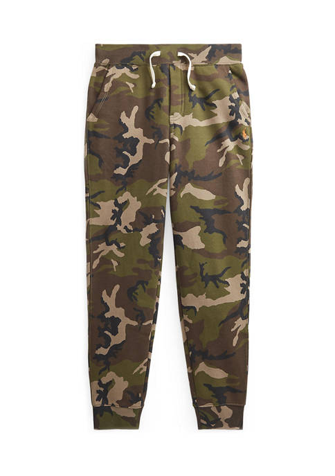 Ralph Lauren Childrenswear Boys 8-20 Camo Fleece Jogger