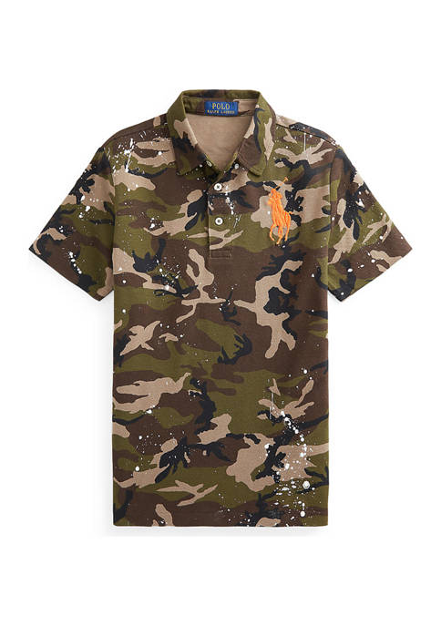 Ralph Lauren Childrenswear Boys 8-20 Camo Paint Splatter