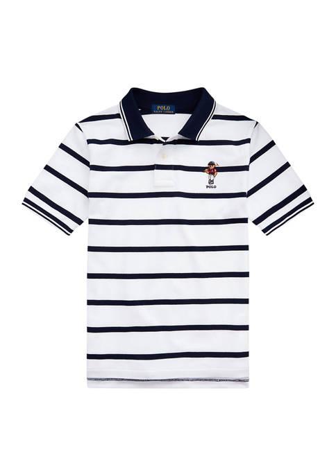 Ralph Lauren Childrenswear Boys 8-20 Polo Bear Striped