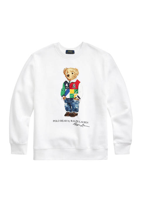 Ralph Lauren Childrenswear Boys 8-20 Polo Bear Fleece