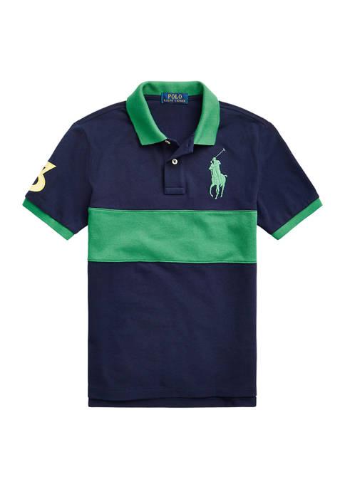 Ralph Lauren Childrenswear Boys 8-20 Striped Big Pony