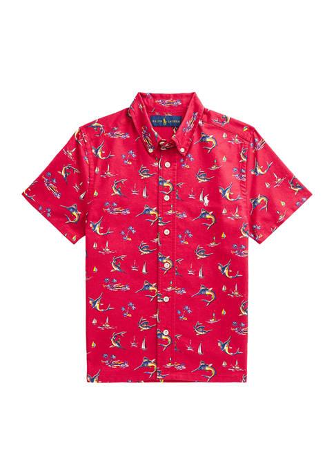 Ralph Lauren Childrenswear Boys 8-20 Marlin Cotton Oxford