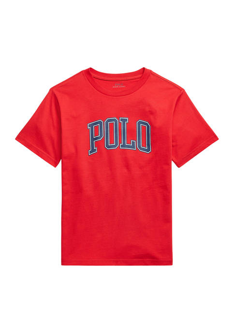 Ralph Lauren Childrenswear Boys 8-20 Logo Cotton Jersey