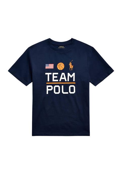 Ralph Lauren Childrenswear Boys 8-20 Team Polo Cotton