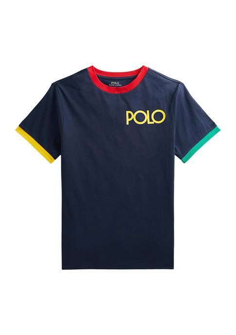 Boys 8-20 Logo Cotton Jersey T-Shirt
