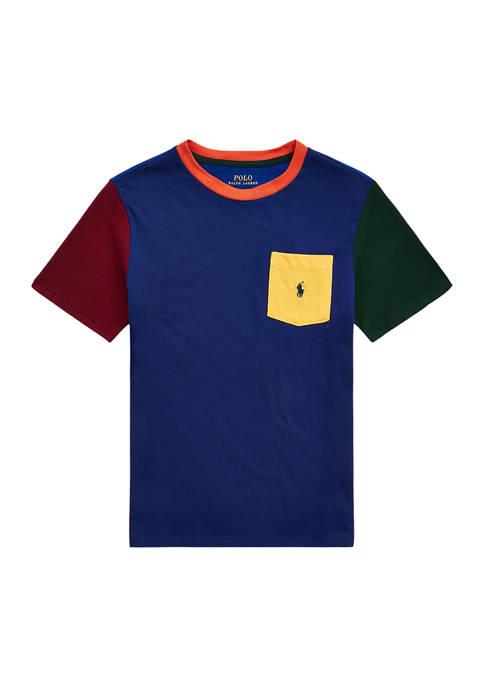 Ralph Lauren Childrenswear Boys 8-20 Color-Blocked Cotton Pocket