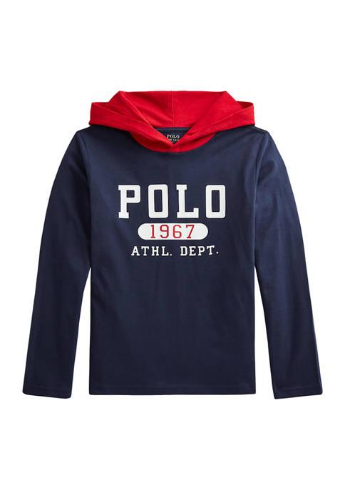 Ralph Lauren Childrenswear Boys 8-20 Cotton Jersey Hooded