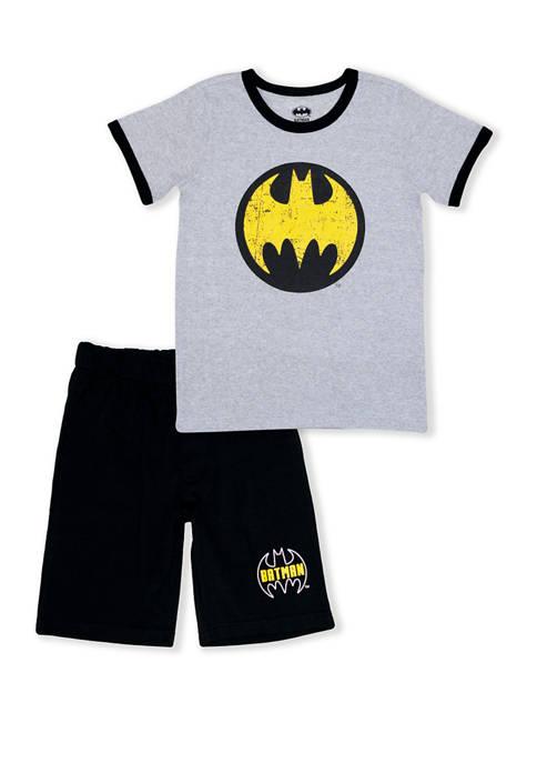 Batman™ Boys 4-7 Batman 2 Piece Set
