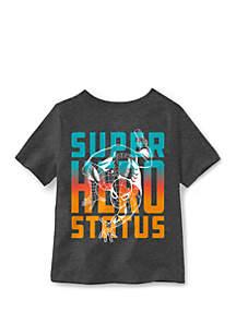Well Worn Boys 4-7 Superhero Status Spider Man T-Shirt