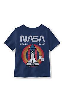 Well Worn Toddler Boys 4-7 Nasa Rocket Ship T-Shirt