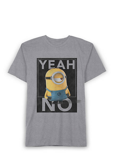 Hot Hybrid Minion Yeah No Tee Boys 8-20  hot sale ZaUSNIAQ
