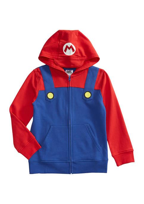 Boys 8-20 Mario Costume Hoodie