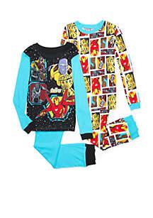Boys 4-20 4-Piece Avengers Set