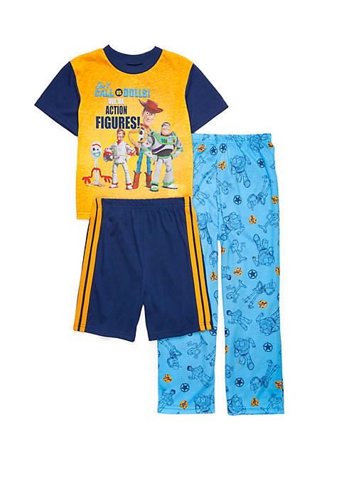 Boys 4-20 Toy Story 3 Piece Pajama Set