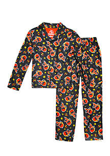 Boys 4-20 Incredible Coat Pajama Set
