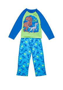 Jurassic World Boys 4-10 Jurassic World 2 Piece Pajama Set