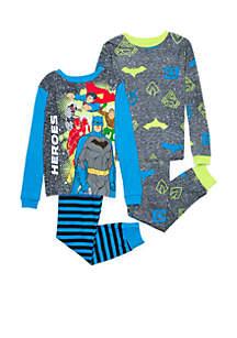Boys 4-20 Justice League Pajama Set