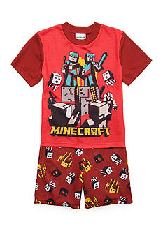Minecraft 2-Piece Pajama Set Boys 4-20