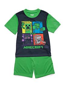 Minecraft Boys 4-20 Minecraft 2 Piece Pajama Set