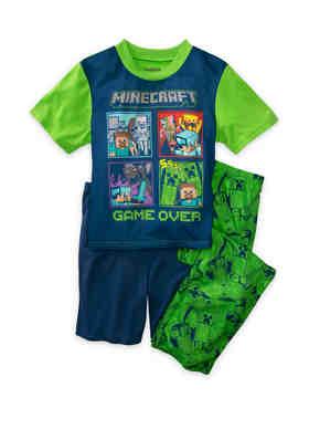 Spider-Man Boys 3-Piece Pajama Set Size 4 6 8 10 $40