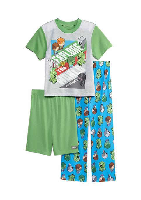 Boys 4-20 3-Piece Pajama Set