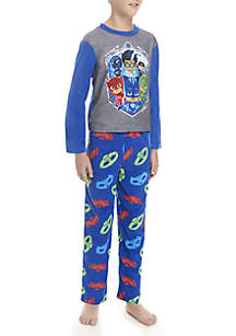 Boys 4-20 PJ Mask Fleece Pajama Set