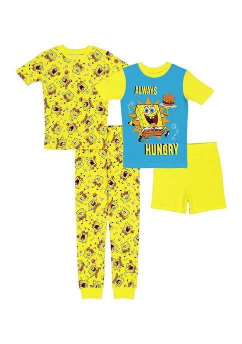 Nickelodeon™ SpongeBob™ Squarepants Boys 4-20 Spongebob Pajamas