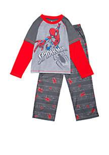 Boys 8-20 2-Piece Spiderman Pajama Set