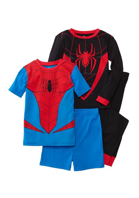 Boys 4-10 4-Piece Pajama Set