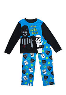 Boys 4-20 Star Wars Fleece Pajama Set