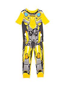 94eae30ddc ... Transformers™ BumbleBee Boys 4-20 BumbleBee Armor Pajama Set