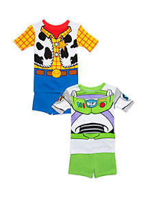 Boys 4-20 4 Piece Pajama Set