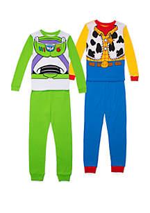 Disney® Pixar™ Boys 4-10 Toy Story 4 Piece Pajama Set