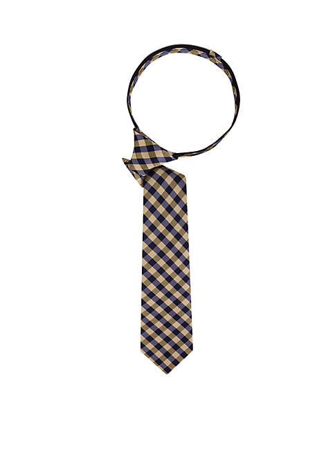 Crown & Ivy™ Boys CIB Plaid Tie