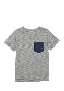 Boys 4-8 Pocket Tee Shirt